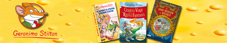<div>Geronimo Stilton</div>