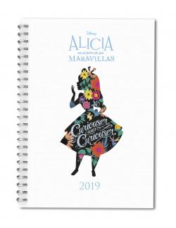 Agenda Disney 2019 Alicia En El País De Las Maravillas Disney Planeta De Libros
