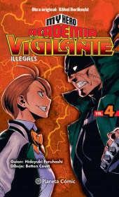 My Hero Academia Vigilante Illegals nº 04